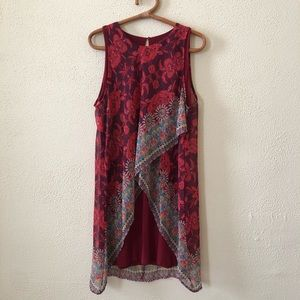 Desigual Patterned Shift Dress 40